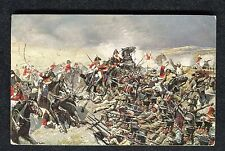 Posted 1913 Art Card: Anglo-German Calvary Change at Hernandez 1812