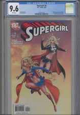 Supergirl #5 CGC 9.6 2005 DC 2 Different Covers Justice League App :New Frame