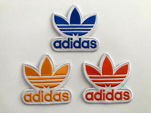 Adidas Sports Sportswear Iron On Patch Mutliple Colors Embroidered