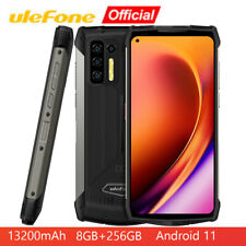 """Ulefone Power Armor 13 6.81"""" Smartphone 8Gb 256Gb Android 11 Cell Phone 13200mAh"""