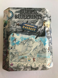New MOUNT EVEREST Buried Blueprints Albert Lorenz 1000 pc 1999 BePuzzled SEALED