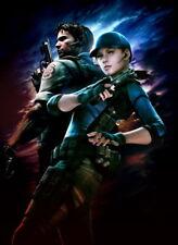 "083 Resident Evil - Jill Valentine Zombie Shoot TV Game 24""x32"" Poster"