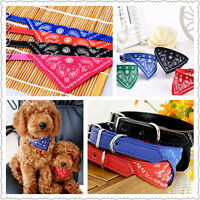 Hot Adjustable Bandanas for Dogs Puppy Pet Products Collars Scarves Accessories