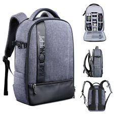 Large Camera Backpack Bag Laptop Waterproof for Canon DSLR SLR Camera K&FConcept