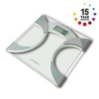 Salter Analyser Bathroom Scale – BMI/BMR, Body Fat Percentage,Toughened Glass
