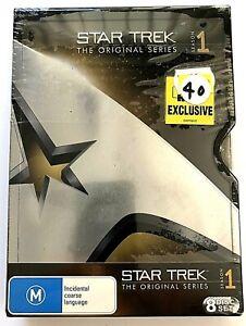 Star Trek the Original Series ~ Season 1 ~ Brand New and Sealed ~ 8 DVD Set