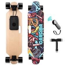 700W Elektrisch Elektro E-Skateboard Longboard mit Fernbedienung Cruiser E-board