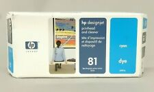 HP 81 Cyan Printhead And Cleaner C4951A DesignJet 5000 Genuine New Sealed Box