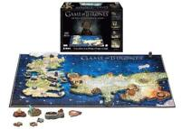 4D Cityscape Game of Thrones Westeros & Essos 4D Puzzle - 891 Pieces (12+ Years)