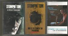 3 Cassette Tape Lot Stompin' Tom Connors