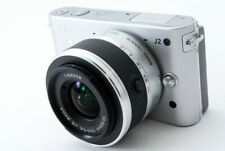 Nikon 1 J2 10.1MP 10-30mm Lens Kit Silver [Exc+++] w/Box,8GB SD Card [753]