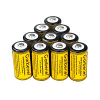 10PCS CR123A Efficient 1800mAh 3.7V 16340 CR123A Rechargeable Li-ion Battery USA