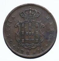 1850 Portugal Ten 10 Reis - Maria II - Lot 1321