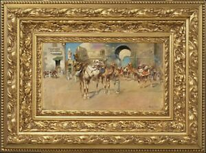 Edwin Lord Weeks - Orientalist Cityscape - SIGNED - HD Pictures