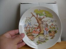 1991 Country Kids Be My Valentine Collector's Plate,