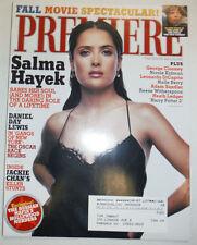 Premiere Magazine Salma Hayek & George Clooney September 2002 031015R