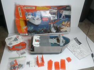 Vintage 1999 MATTEL MATCHBOX DEEP SEA EXPLORER Missing Parts