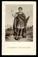 "santino-holy card""S.ESPEDITO M."