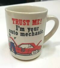 VIntage Retro Auto Mechanic Coffee Mug Cup