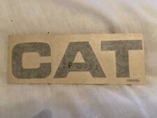 Caterpillar CAT DECAL for Plant Machines Original Old Logo In New Condition Nzg