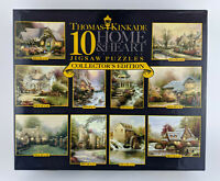 Thomas Kinkade 10 Home & Heart Jigsaw Puzzles - Collectors Edition (2005) Sealed