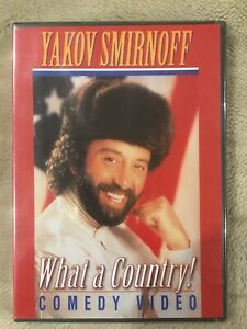"""Yakov Smirnoff """"What A Country!"""" (DVD 1994) Comedy Classic! Brand New Sealed"""