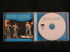 SISTER SLEDGE. THE 9 GREATEST HITS. Compact Disc