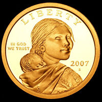 2001 P+D Sacagawea Dollars ~ With Eagle in Flight Reverse in Original Mint Cello