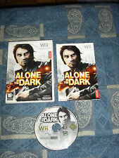 WII : ALONE IN THE DARK - Completo, ITA ! Disco come nuovo! Compatibile Wii U