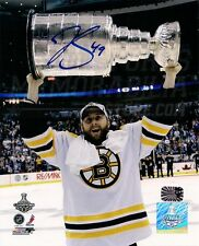 Rich Peverley Boston Bruins Signed Raising Stanley Cup 8x10 B