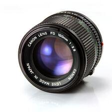 Canon FD 100mm F/2 .8  S/N 36206 Fixed/Prime, Manual, SLR, DSLR Sony NEX, M4/3