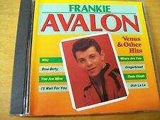 FRANKIE AVALON VENUS & OTHER HITS  CD