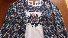 Ukrainian vintage embroidered dress (or blouse), 2XL-3XL,handiwork, Ukraine