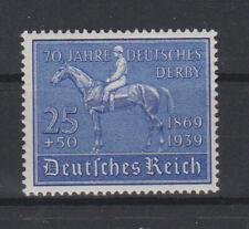 Deutsches Reich - 70 Jahre Deutsches Derby - postfrisch mit Falz - ansehen -
