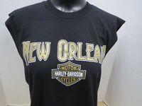 S//S And 100/% Cotton RN00418 Men/'s Harley-Davidson NOLA Macabre T-Shirt Is Black
