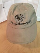 GOLDEN RETRIEVER RESCUE HAT, RESCUE  A HEART OF GOLD