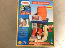 Thomas THE TANK ENGINE Thomas and Friends lc99375 Sodor CEMENT Works nuovo sigillato