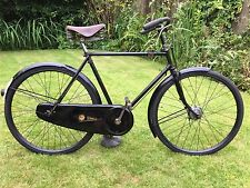 """Vintage 1937-38 Silver Sunbeam Light Roadster Model """"WRH"""" Gents Bicycle VCG"""
