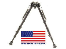 """HB25S Harris Bipods - Extends from 12"""" to 25"""" - Swivels - 100% Made in USA 25S"""