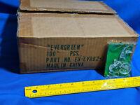 80+ Huge Lot Case 1992 Energizer Bunny Xmas Tree Ornament Evergreen Green VTG Ad