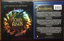 THE LORDS OF THE RING TRILOGY BOX SET BLU-RAY / STANDARD 6 DISC TOTAL & SLIP BOX