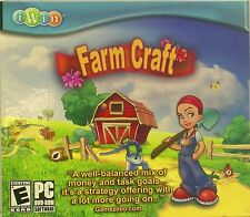 Farm Craft by Encore PC CD Child's Game * New Ship Free