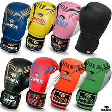 NEW Boxing Gloves Sparring Glove Punch Bag Training MMA Mitts Dimex 10oz to 16oz