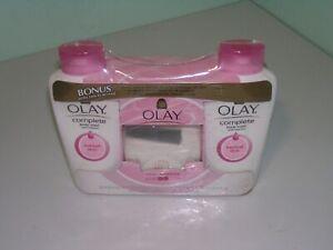 VTG Olay Complete Body Wash Vitamins Unscented Moisture normal Skin 23.6 0z. set