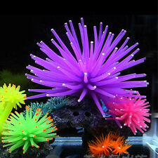 Aquarium Eau Décoration Aquarium Décor Artificiel Betta Corail Poulpe Neu
