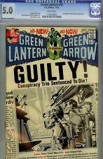 GREEN LANTERN #80- CGC 5.0 -  NEAL ADAMS DC  ART- GUARDIANS OF THE UNIVERSE-