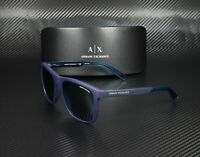 ARMANI EXCHANGE AX4049Sf 818380 Matte Blue Blue 57 mm Men's Sunglasses