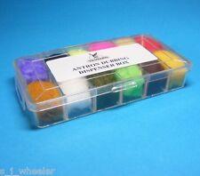 Veniard Antron Dubbing Dispenser 12 Farben