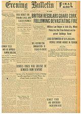 Military Law Reigns In Irish City December 13 1920 0601221Sq B7