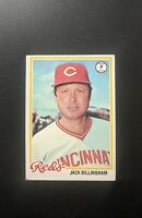 1978 Topps Jack Billingham #47 Baseball Card  - Cincinnati Red's
